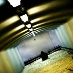 """Lonley Man in Tunnel"" by hordur"