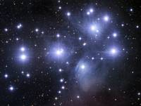 GEN100018S: Open cluster known as The Pleiades.