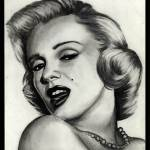 """Marilyn Monroe #8"" by ArtByAlycia"