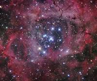 NGC 2244, open cluster within the Rosette Nebula