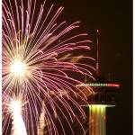 """Tower of the Americas New Year Fireworks 2009"" by Olejnik"