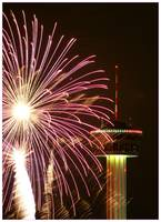 Tower of the Americas New Year Fireworks 2009