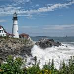 """Portland Head Light Looking East"" by MikeDimages"