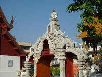 Gateway to the Chedi at Wat Bupharam