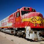 """Santa Fe Train"" by SueLeonard"