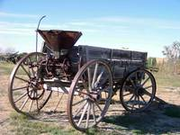 Wagon - South Dakota Prairie