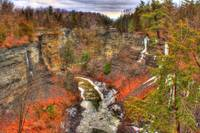 Taughannock Creek gorge HDR