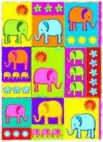Patchwork Elephants