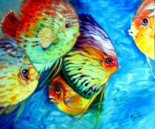 Tropical Fish Artwork Images