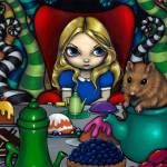 """Alice and the Dormouse"" by strangeling"