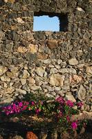 Stone Wall with Windows Spain