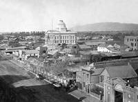 San Jose Courthouse 1868 by WorldWide Archive