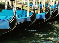 Covered Gondolas in a Row