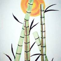 China Bamboo Art Prints & Posters by Terrah Tullie