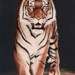 """Tiger Prowl painting"" by AnimalsbyDiDi"