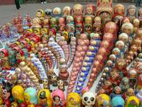 Matrushka dolls on Sparrow Hill