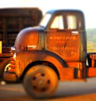 Sunset  Chevy coe