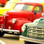 """Colorful old pick up trucks"" by Knocktwice10"