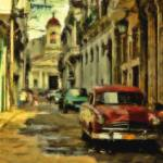 """street of havana"" by horiapopan"