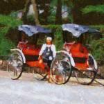 """Rickshaw Man"" by impressionistheart"