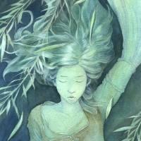 Ophelia Art Prints & Posters by Erika Taguchi