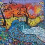 """Enchanted Peacocks"" by juliryan"