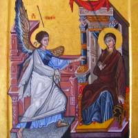 Annunciation of the Theotokos Art Prints & Posters by Ivana Vuckovic