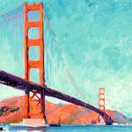 """The Golden Gate By RD Riccoboni"" by BeaconArtWorksCorporation"