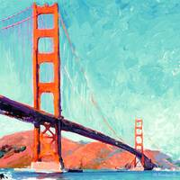 The Golden Gate By RD Riccoboni