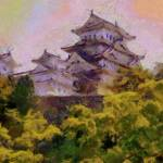 """Himeji Castle"" by impressionistheart"