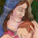 """Madonna and Child"" by woodmaster"