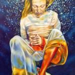"""Girl Underwater"" by julietsmithart"