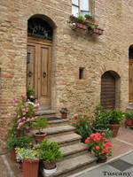 At Home in Pienza