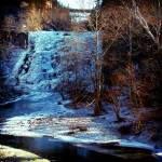 """ithaca falls winter wide"" by chandlerphotography"