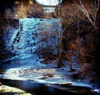 ithaca falls winter wide