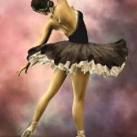 """The Ballerina * Wall Art"" by AnaCBStudio"