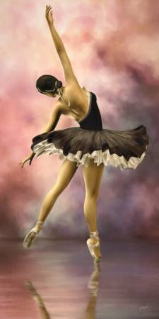 The Ballerina * Wall Art