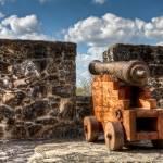 """Cannon at Presidio La Bahía"" by BeautifullyScene"