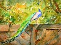 La La Lee Lou, Impressionist Watercolor Painting P
