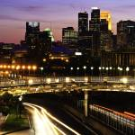 """Minneapolis Skyline"" by joemamerphotography"