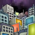 """""""Cell City"""" by mariozuccaillustration"""