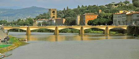 Arno River Panorama