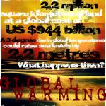 """graphic design- global warming- almfin"" by AdamSteinbok"