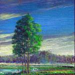 """Pristine Pines-Tryptych 3"" by cyber_highwaymen"