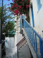 Blue Stair Railing, Mykonos