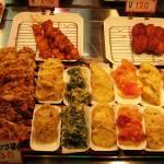 """""""Nishiki Market-fast food, Kyoto, Japan"""" by OneMansPerspectives"""