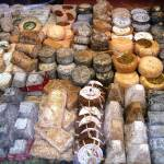 """French Cheeses Display, Ile St-Lo"" by OneMansPerspectives"