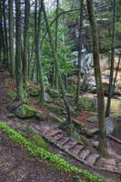 Hocking Hills Spring Waterfalls by Jim Crotty 20