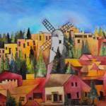 """Montefiore Windmill"" by Naranjay"
