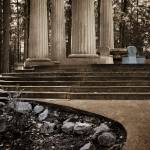 """Roche Harbor Mausoleum II"" by sandybuckley"